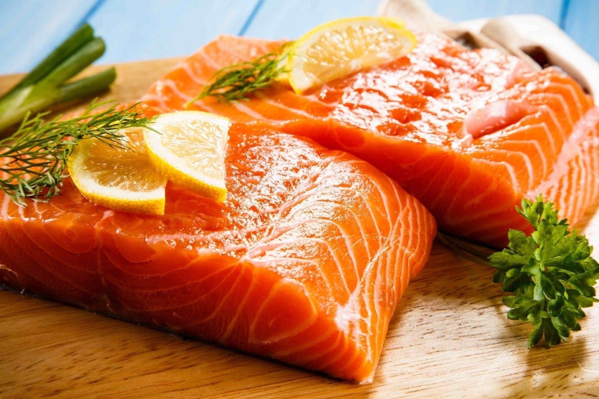 Farmed Salmon Healthy